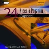 24 Capricci by Niccolo Paganini