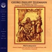 Melomanie Quatuors Ou Trios by Georg Philipp Telemann