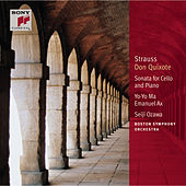 R. Strauss: Don Quixote, Op. 35; Sonata in F Major for Cello and by Yo-Yo Ma