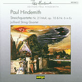 Paul Hindemith: Streichquartette Nr.2 & Nr.6 by Juilliard String Quartet