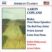 COPLAND: Prairie Journal / The Red Pony Suite / Letter from Home by The Buffalo Philharmonic Orchestra
