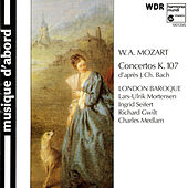 Mozart: Concertos K.107 (After Keyboard Sonatas, Op.5 of J.C. Bach) by Various Artists