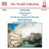 Cello Concerti RV 405, 411, 414, 416, 417, 420 & 421 by Antonio Vivaldi