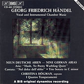 Nine German Arias, Hwv 202-210/Trio Sonata In C Minor, Hwv 386a by George Frideric Handel