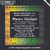 Complete Works For Flute And Guitar, Vol. 3 by Mauro Giuliani