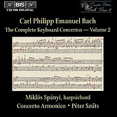 Complete Keyboard Concertos, Vol.  2 by Carl Philipp Emanuel Bach