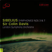 Symphonies No. 3 and 7 by Jean Sibelius