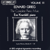 Complete Piano Music, Vol. 3 by Edvard Grieg