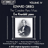 Complete Piano Music, Vol. 4 by Edvard Grieg