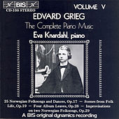 Complete Piano Music, Vol. 5 by Edvard Grieg