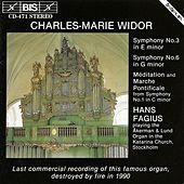 Organ Symphonies Nos. 1, 3 and 6 by Charles-Marie Widor