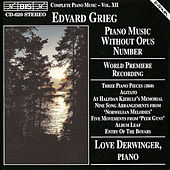 Piano Music Without Opus Number by Edvard Grieg