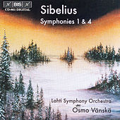 Symphonies Nos. 1 and 4 by Jean Sibelius
