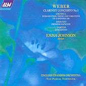 Weber: Clarinet Concerto No. 1  by Various Artists