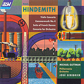 Hindemith: Violin Concerto; Concerto For Orchestra; Ragtime  by Paul Hindemith