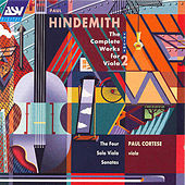 Hindemith: Complete Works For Viola - Volume 2; Four Sonatas For Solo Viola  by Paul Hindemith