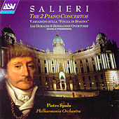 Salieri: The 2 Piano Concertos  by Antonio Salieri