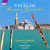 Vivaldi: Bassoon Concertos Vol.5  by Antonio Vivaldi