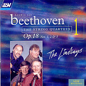 Beethoven:  String Quartets Vol. 1: Opus 18, Nos. 1, 2 & 3 by Ludwig van Beethoven