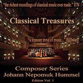 Classical Tresures Composer Series: Johann Nepomuk Hummel, Vol. 1 by Various Artists