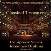 Classical Treasures Composer Series: Johannes Brahms, Vol. 2 by Various Artists