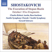 Shostakovich: The Execution Of Stepan Razin / October / 5 Fragments, Op. 42 by Dmitri Shostakovich