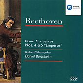 Beethoven: Piano Concertos Nos. 4 & 5 by Berliner Philharmoniker