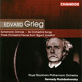 Symphonic Dances/Six Songs For Voice and Orchestra/Three Orchestral Pieces, Op. 56 by Edvard Grieg