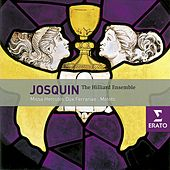Josquin Desprez: Motets and Chansons/Hilliard Ensemble by Paul Hillier