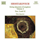 String Quartets (Complete) Vol. 4 by Dmitri Shostakovich