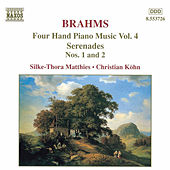 Four Hand Piano Music Vol. 4 by Johannes Brahms