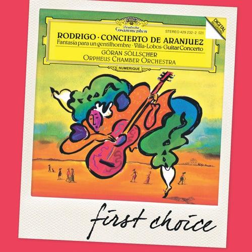 Rodrigo: Concierto de Aranjuez; Fantasia para un gentilhombre / Villa-Lobos: Guitar Concerto by Göran Söllscher
