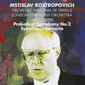 Prokofiev : Symphony No.2 & Symphony-Concerto for cello & orchestra (Maestro) by Mstislav Rostropovich
