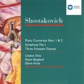 Shostakovich: Piano Concerto No. 1 + 2/Symphony No. 1/3 Fantastic Dances by Cristina Ortiz