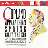 Copland: Appalachian Spring / Billy The Kid von Aaron Copland
