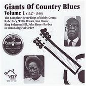 Giants of Country Blues, Vol. 1 (1927-1938) by Various Artists