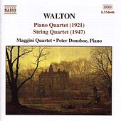 Piano Quartet / String Quartet von Sir William Walton