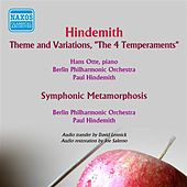 Hindemith: Theme and Variations, 'The 4 Temperaments' - Symphonic Metamorphosis after Themes by Carl Maria von Weber von Various Artists