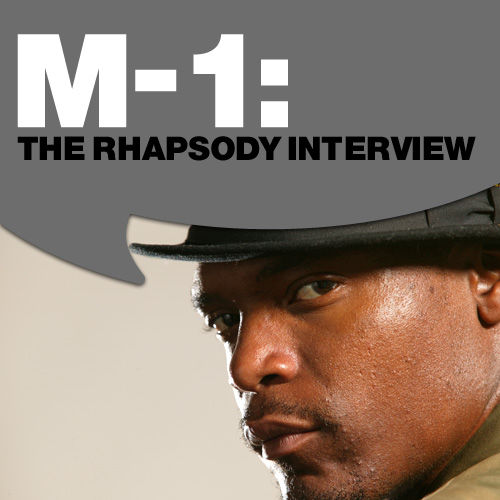 M-1: The Rhapsody Interview by M-1