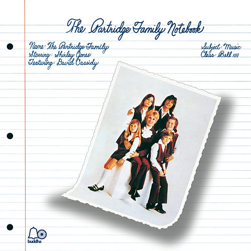 The Partridge Family Notebook by The Partridge Family