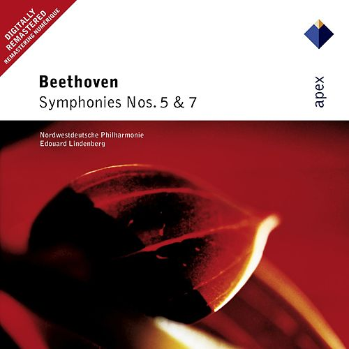 Beethoven : Symphonies Nos 5 & 7 by Edouard Lindenberg