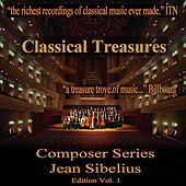 Classical Tresures Composer Series: Jean Sibelius, Vol. 1 by Various Artists