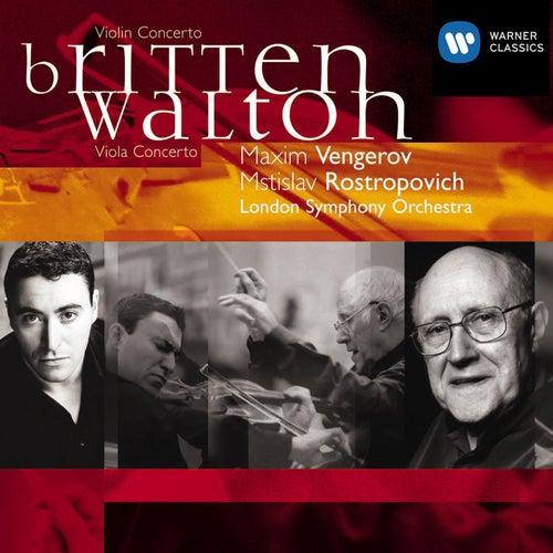 Britten : Violin Concerto Op.15 & Walton : Viola Concerto by Maxim Vengerov