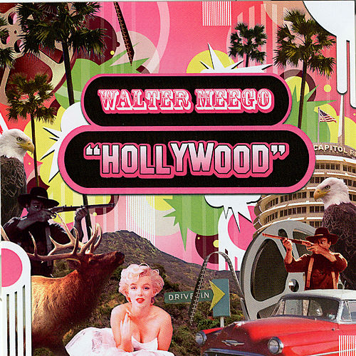 Hollywood / Through a Keyhole by Walter Meego