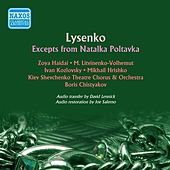 Lysenko: Natalka Poltavka (Highlights) by Zoya Haidai