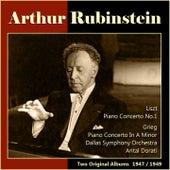 Liszt: Piano Concerto No. 1 - Grieg: Piano Concerto in A Minor (Two Original Albums, 1947/1949) de Various Artists
