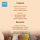 Aaron Copland & Leonard Bernstein Play Their Works by Various Artists