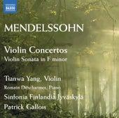 Mendelssohn: Violin Concertos - Violin Sonata in F minor by Tianwa Yang