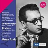 Tchaikovsky: Piano Concerto No. 1 - Brahms: Piano Concerto No. 2 de Geza Anda