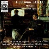 Lekeu: Mélodies & Morceaux égoïstes by Various Artists
